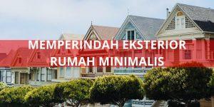 memperindah eksterior rumah minimalis - roomsevents